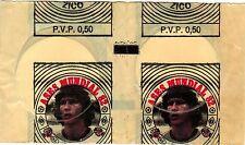 Venezuela 1982 Reyauca Spain España '82 World Cup Soccer Ases Sticker Pack Zico