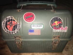 Stanley Classic Dome Lunch Box Green 10 Qt Career Outdoor Stickers