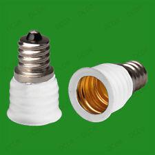 20x CES E12 Candelabra To Small Screw E14 SES Bulb Adaptor Converter Holder