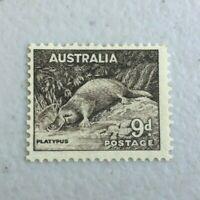 APD566) Australia 1937 9d Platypus Perf. 13 1/2 x 14 MUH