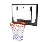 Cyfie Over-The-Door Basketball Hoop Backboard System, 32'' X 23'' Shatte