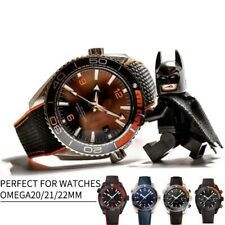 Silicone Watch Bracelet Nylon Stylish Strap Perfect For Omega Seamaster 300 8900