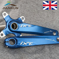 Single/Double/Triple Speed 104bcd MTB Road BMX Bike Chainset Crank set BB Blue