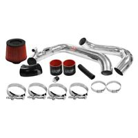 DC Sports CAI4215 Aluminum Powder Coated Silver Cold Air Intake System