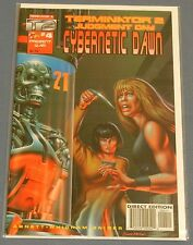 MALIBU COMICS TERMINATOR 2 JUDGEMENT DAY CYBERNETIC DAWN #4 ~DIRECT EDITION NMT