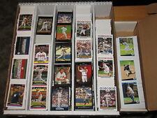 2009 Topps Large  Baseball Base & Insert Cards Lot Approximately 1546 Cards