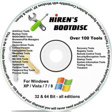Boot CD Virus Removal,Computer Recovery,Backup Software& Computer Cleanup 7 & XP