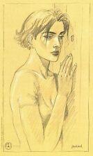 JUILLARD Ex-libris Le long Voyage de Lena 100 ex numéroté signé 17,5x29 cm