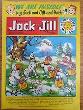 JACK & JILL COMIC 10 February 1979 Birthday Gift The Wombles Tiger Tim VINTAGE
