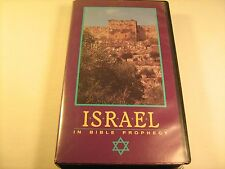Rare Christian VHS Film ISRAEL IN BIBLE PROPHECY David Reagan [Z13a]