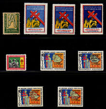 Ecuador 1946 - 1956  Christmas Seals - Complete Set
