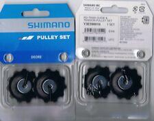 1pr Genuine Shimano 11 tooth Jockey wheels gear pulley for T6000 Deore 10 speed