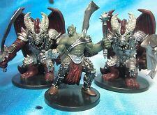 Dungeons & Dragons Miniatures Lot  Shocktroop Devil Aspect of Bane !!  s101