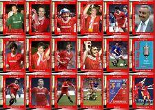 Liverpool 1984 Liga de fútbol Copa Final Ganadores Trading Cards