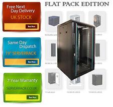 22U DATA  RACK 19 INCH 600 (W) x450 (D) x 1200 (H)  flat pack -