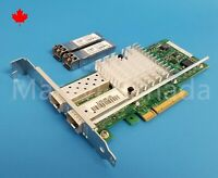 Intel X520-DA2 Dual Port 10GB PCI-e Network Adapter E10G42BTDA SFP+ Transceivers