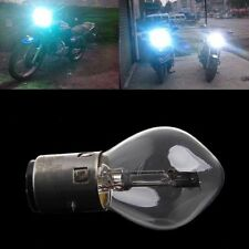 ATV Moped Scooter Head Light Bulb Motorcycle 12V 35W 10A B35 BA20D Glass Hot