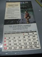 STREAM & FIELD SPORTSMAN'S  CALENDAR   1948 OFFICIAL  HARDWARE ASSOCIATION