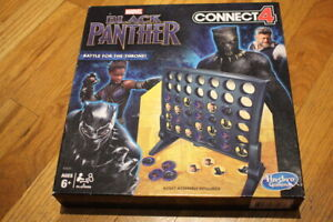 Hasbro Connect 4: Marvel Black Panther Edition-Battle For The Throne Four