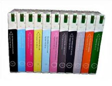 10 x Ink Cartridges for Epson Stylus Pro 4900 Xxl per 200ml Pigment Cartridges