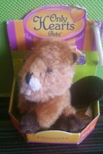 """Only Hearts Pets """"Choppers"""" the Beaver Only Hearts Club Rare New In Box"""