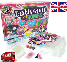 12 Pieces Kids Make Your Own Bath Stuff And Bombs Science Soap Kit Toy