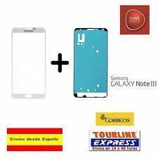 CRISTAL EXTERIOR PANTALLA FRONTAL + ADHESIVO SAMSUNG GALAXY NOTE 3 N9005 BLANCO