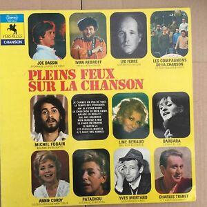 Pleins Feux Sur La Chanson - Versailles VER 34014 - Vinyl