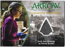Arrow Seasn 1 Costume Wardrobe Relic Card Felicity Smoak Emily Rickards M09 M-09