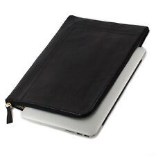 VMA Laptop Sleeve Cowhide Genuine Leather 13'- 14' Laptops- Macbook, Dell, Asus