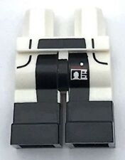Lego New White Hips and Legs with Lab Coattails over Black Pants and ID Badge