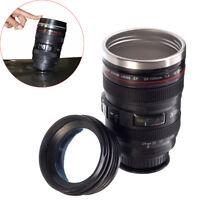 Camera Lens Cup Thermos Mug Coffee Tea Food Grade 400ml EF 24-105mm 1:4 IS USM