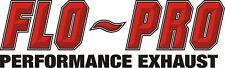 "Flopro 1874 4"" Turbo Back With Muffler 2013-2018 Dodge Ram Cummins 6.7L Flo Pro"