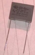 Condensador de reparación del motor Rega Planar para los modelos anteriores 0.22uF 220nF X2 Clase