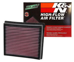 K&N 33-5005 Drop-in Panel Air Filter 2013-2019 RAM 2500 3500 4500 6.7L Diesel