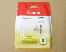 Cartouche Originale CANON 8 CLi-8Y XL 13ml Encre Yellow Genuine Neuve Scellée