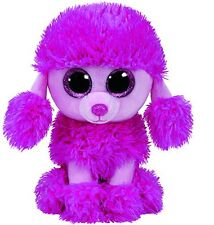 TY BEANIES Patsy the Poodle 15cm  SOFT TOY