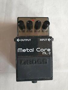 Boss ML-2 - Metal Core - Effektgerät für Gitarre