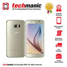 Samsung Galaxy S6 - 32GB - Gold (Unlocked) Smartphone - Grade A