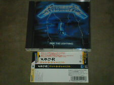 Metallica Ride The Lightning Japan CD