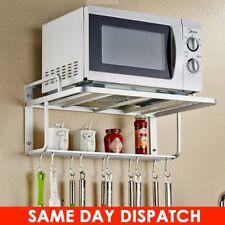 Microwave Oven Stand Rack Holder Wall Mounted Shelf Kitchen Organizer Storage