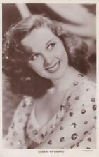 Susan Hayward - Real Photo Postcard - Picturegoer 1402