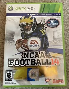 NCAA Football 14 (Xbox 360, 2013) - Adult Owned & Played - Scratch Free