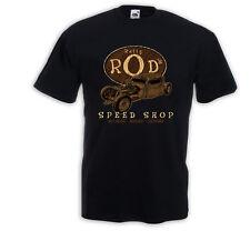 Hot Rod T-Shirt Ratty Rod Vintage Rockabilly Muscle Car Rat Rod V8