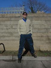 BRAM´S PARIS Cordhose Hose dunkelblau pants 90er True VINTAGE 90s trousers NOS