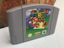 Classic/retro: N64 NINTENDO 64 Super Mario 64 Videojuego *** solo carro.