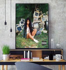 SZA Ctrl Album Cover Poster Professional Grade Gloss Photo Print HD A3 A4 Wall