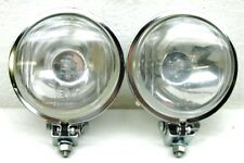 "4.5"" CHROME METAL HOUSING 55 WATT HALOGEN DRIVING/SPOT LIGHTS TRUCK/CAR/SUV^^FK"