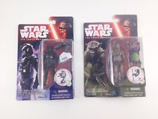 Star Wars The Force Awakens first order tie fighter pilot & Hassk thug figure.