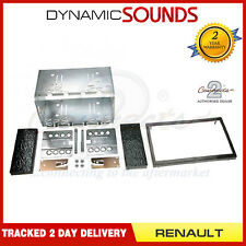 CT23RT01 Double Din Car Stereo Fascia Panel Kit For Renault Laguna II 2002-2005